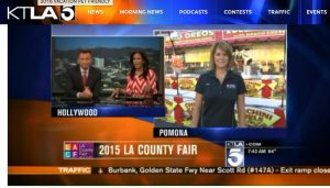 Porter PR & Marketing, one of the most prestigious PR firms in Las Vegas lands television news coverage - LA County Fair