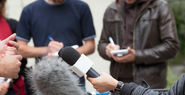 PR Firm Article image of reporters intereviewing