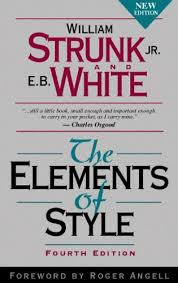 Image of Elements of Style Book - A must-read for public relations professionals.