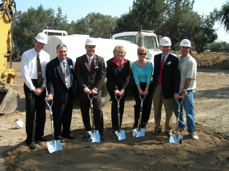 Burbank groundbreaking